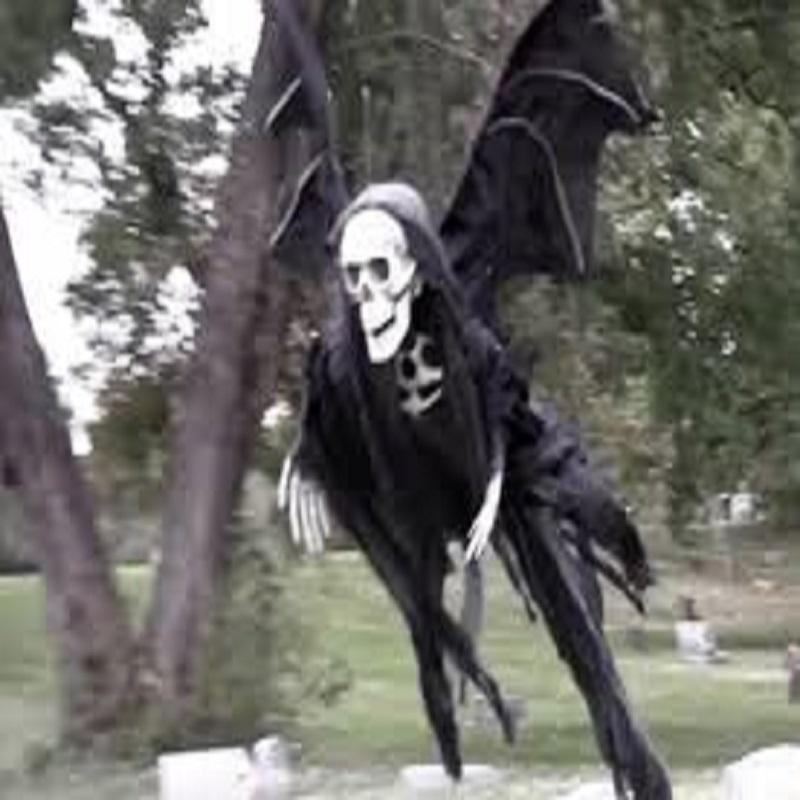 Halloween Drone Ghost Prank